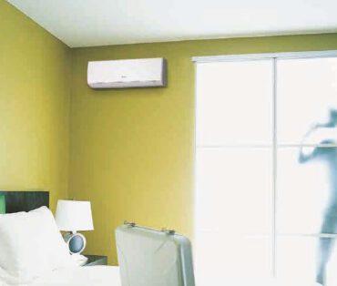 klimatyzacja ścienna w mieszkaniu 3