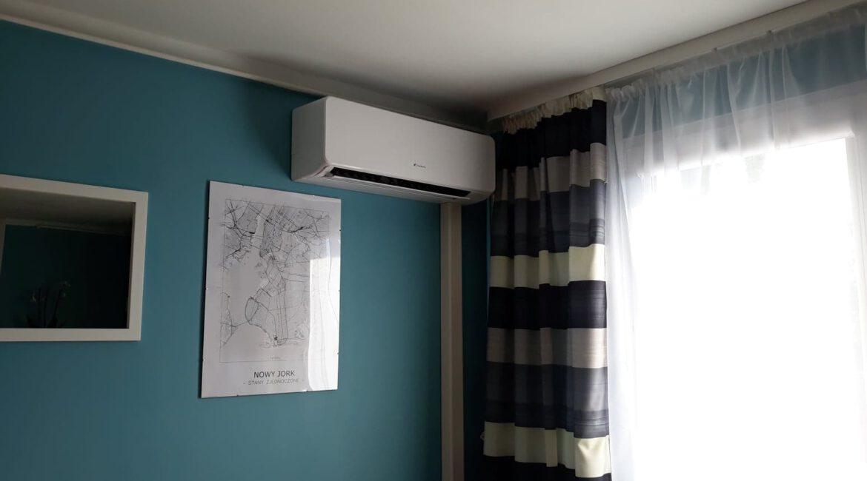 klimatyzacja ścienna w mieszkaniu 14