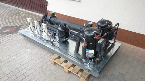 remont wytwornicy wody lodowej 2