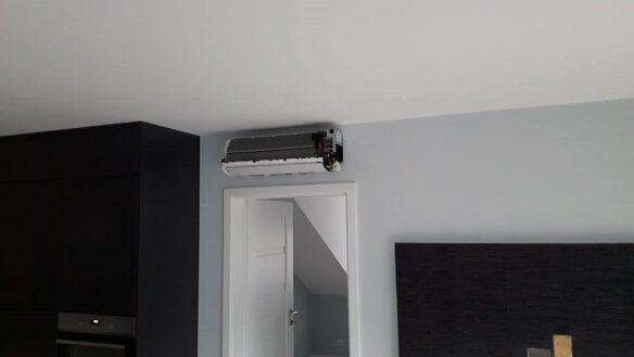 montaż klimatyzatora ściennego 2