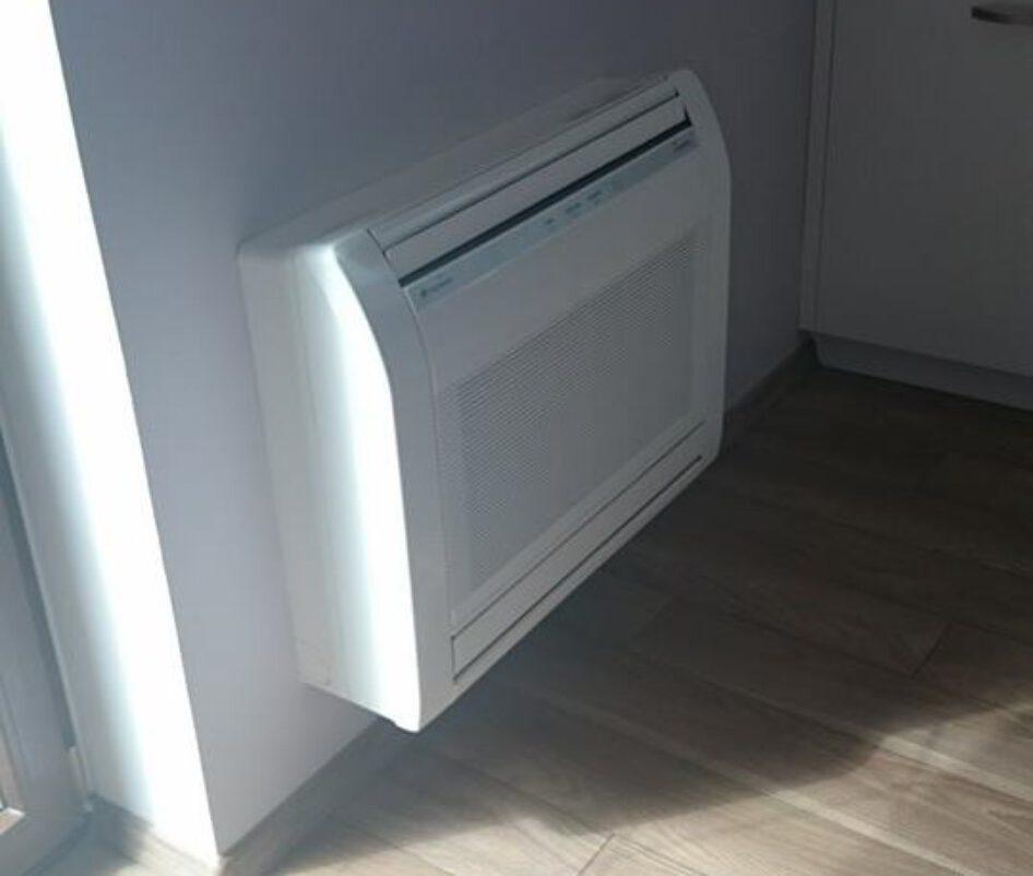 montaż klimatyzatora przypodłogowego 4