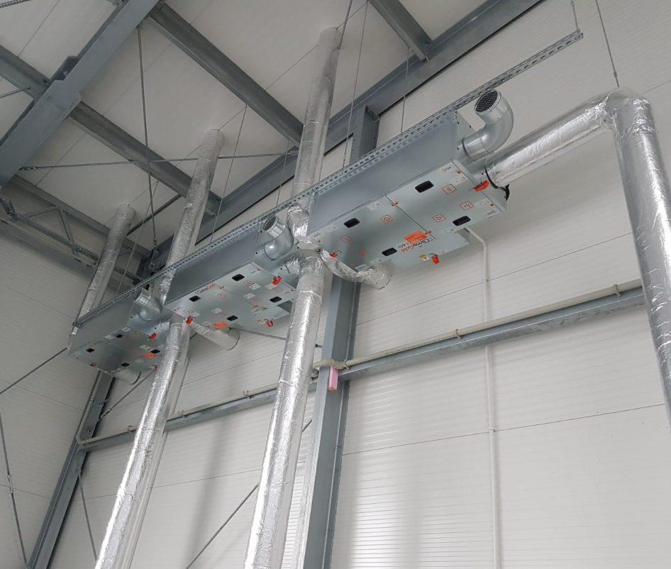 montaż systemu wentylacji 4